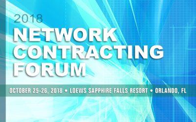 2018 Network Contracting Forum