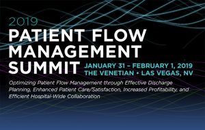 2019 Patient Flow Management Summit