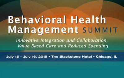 2019 Behavioral Health Care Summit