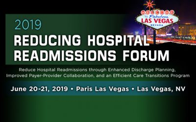 2019 Reducing Hospital Readmissions Forum