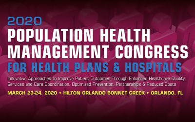 2020 Population Health Management Congress for Health Plans & Hospitals