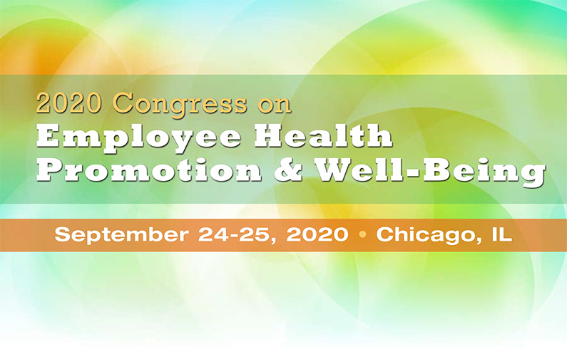 2020 Congress on Employee Health Promotion and Well-Being